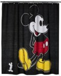 Mickey Mouse Fabric Shower Curtain