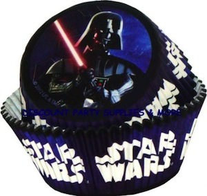 Star Wars Darth Vader Baking Cups