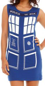 Tardis Tunic Tank Dress