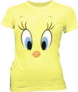 Tweety Bird Big Face T-Shirt