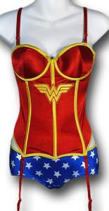 Wonder Woman Corset And Panty Set