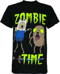 Adventure Time Zombie Time T-Shirt