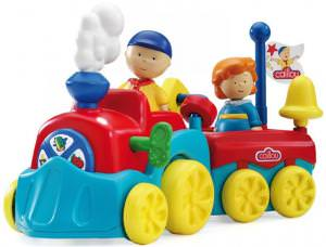 Caillou Learning Wind-Up Train