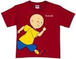 Caillou Running Red T-Shirt