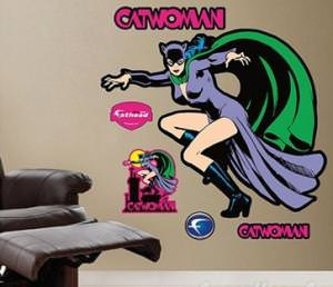 Catwoman Classic Life Size Decal