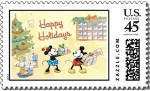 Disney Mickey And Minnie Mouse Christmas Stamps