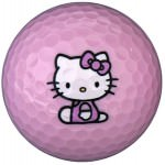 Hello Kitty Pink Golf Ball