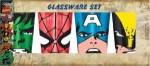 Marvel Big Faces 4 Pack Pint Glasses