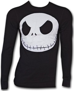 Nightmare Before Christmas Face Jersey Shirt