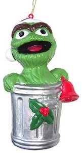 Sesame Street Oscar The Grouch Christmas Ornament