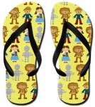Wizard Of OZ Flip Flops