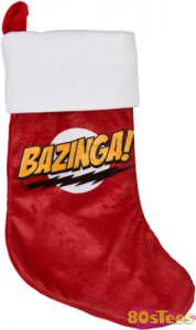 The Big Bang Theory Bazinga Christmas Stocking