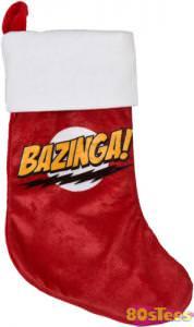 Bazinga Christmas Stocking