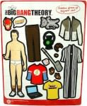 The Big Bang Theory Sheldon Dress Up Magnet Set