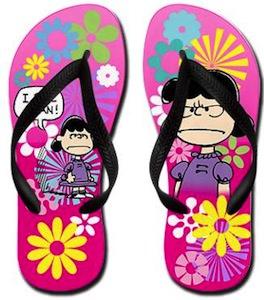 Lucy I Feel Mean Flip Flops
