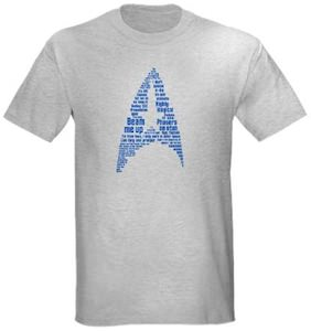 Star Trek Insignia Of Quotes T-Shirt