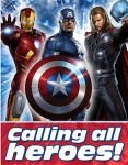 marvel The Avengers birthday Invitations