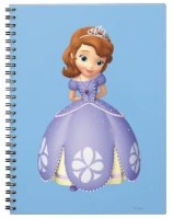 Sofia The First Spiral Notebook