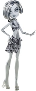 Monster High Black And White Frankie Stein Doll