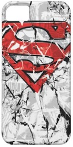 Red Superman logo iPhone case