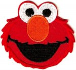 Sesame Street Elmo Iron On Patch