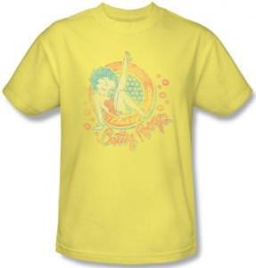 Betty Boop Classy Dame Retro T-Shirt