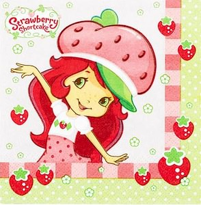 Strawberry Shortcake Napkins