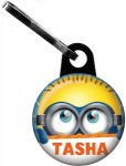 Despicable me Minion Zipper Pull