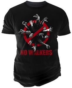 The Walking Dead No Walkers T-Shirt
