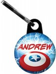 Captain America Zipper Pull