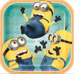 Despicable Me Minion Paper Plates