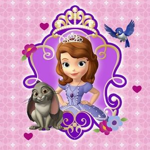 Sofia The First Napkins