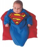 Superman newborn costume