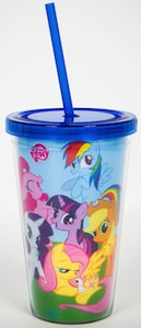 My Little Pony Cup With Straw
