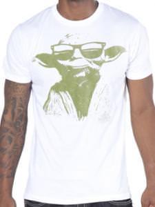 Yoda Wearing Sunglasses T-Shirt