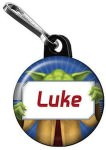 Star Wars Yoda Zipper Pull