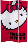 Hello Kitty Face Room Divider