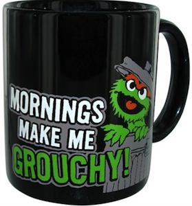 Mornings Make Me Grouchy Mug