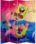 Spongebob And Patrick Room Divider