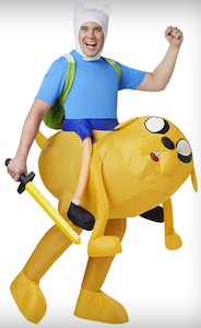 Adventure Time Jake And Finn Inflatable Costume