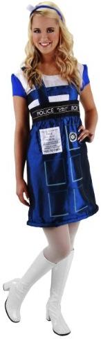 Doctor Who Tardis Costume Dress