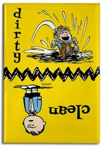 Peanuts Pigpen Dirty / Clean Dishwasher Magnet