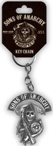 SAMCRO key chain with reaper logo
