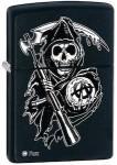 Samcro Reaper logo Zippo Lighter