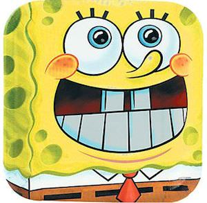 Spongebob Squarepants Paper Plates