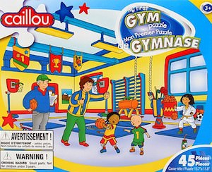 Caillou My First Gym Puzzle