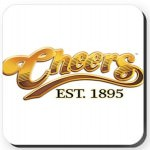 Cheers Logo Coaster