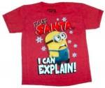 Minion Dear Santa I can explain t-shirt