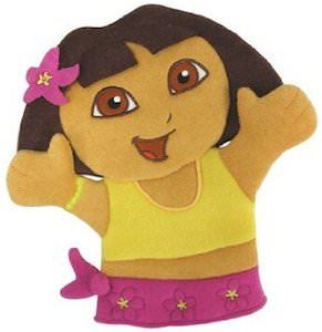Dora The Explorer Bath Mitt