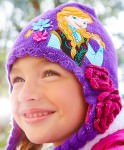 Frozen Anna girls Winter Hat